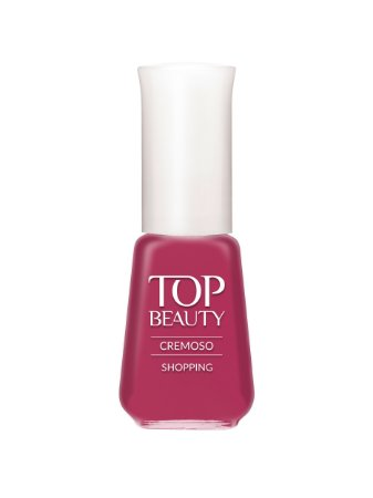 Esmalte Top Beauty Cremoso Shoping  (Caixa com 6)
