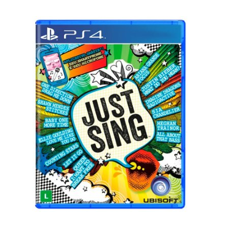 Jogo Just Sing - PS4
