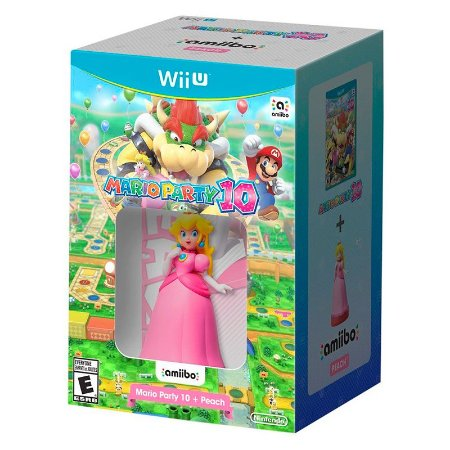Bundle Mario Party 10 + Amiibo Peach - Wii U