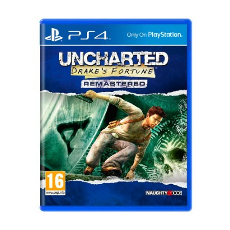 Jogo Uncharted: Drake's Fortune Remastered - PS4