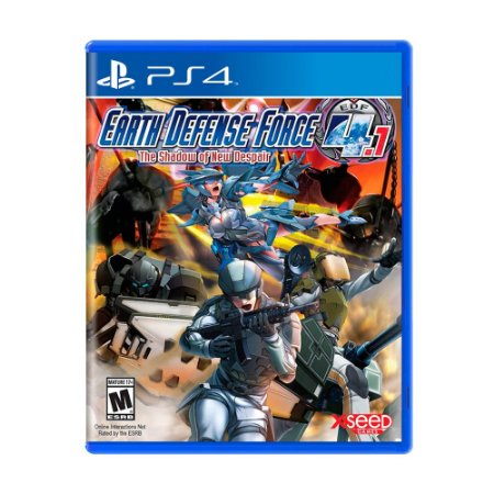 Jogo Earth Defense Force 4.1: The Shadow of New Despair - PS4