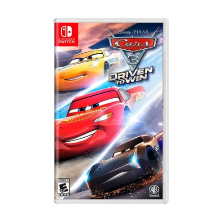 Jogo Cars 3: Driven to Win - Switch