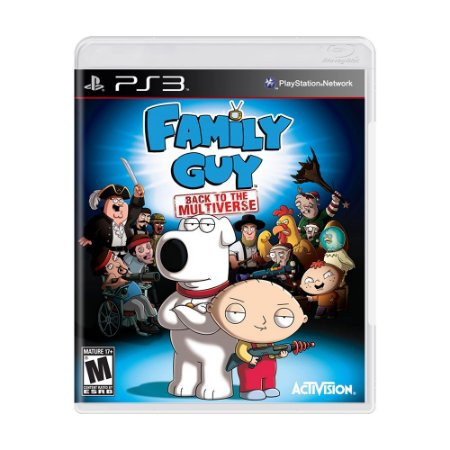 Jogo Family Guy: Back to the Multiverse - PS3