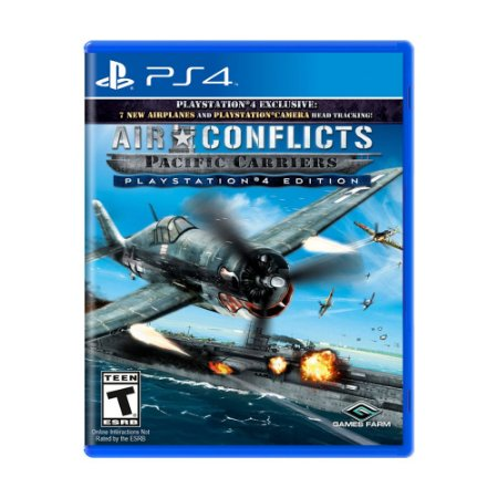 Jogo Air Conflicts: Pacific Carriers (PlayStation 4 Edition) - PS4