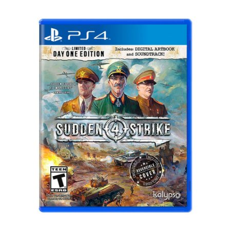 Jogo Sudden Strike 4 (Day One Edition) - PS4
