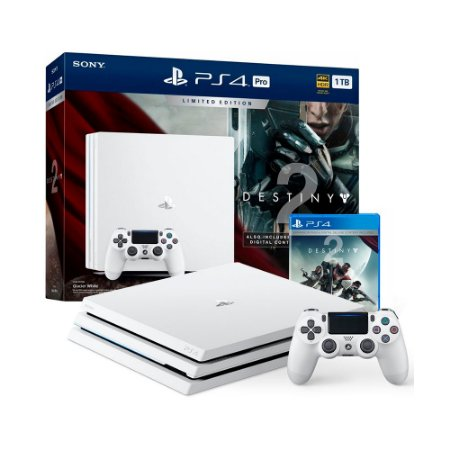 Console PlayStation 4 Pro 1TB + Destiny 2 (Limited Edition) - Sony