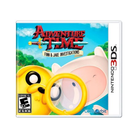 Jogo Adventure Time: Finn and Jake Investigations - 3DS