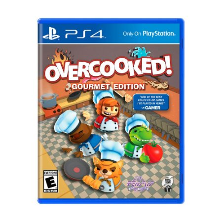 Jogo Overcooked (Gourmet Edition) - PS4