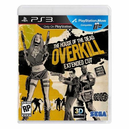 Jogo The House of the Dead: Overkill - PS3