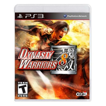 Jogo Dynasty Warriors 8 - PS3