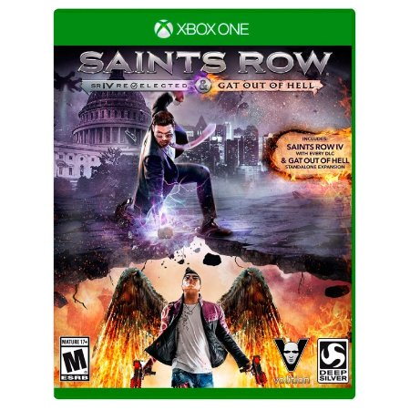 Jogo Saints Row IV: Re-Elected & Gat Out of Hell - Xbox One
