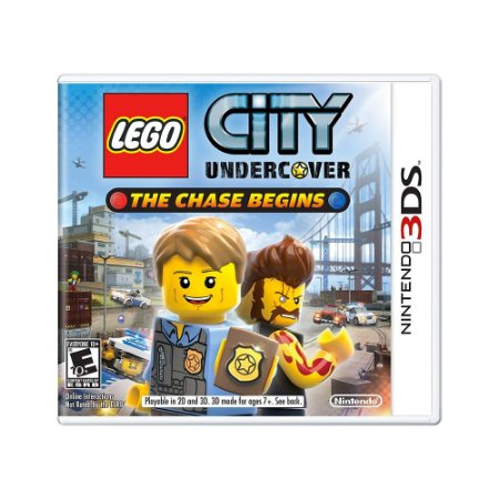 Jogo LEGO City Undercover: The Chase Begins - 3DS