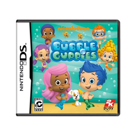 Jogo Nickelodeon: Bubble Guppies - DS