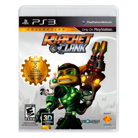 Jogo Ratchet & Clank Collection - PS3