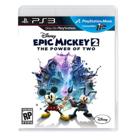Jogo Disney Epic Mickey 2: The Power of Two - PS3