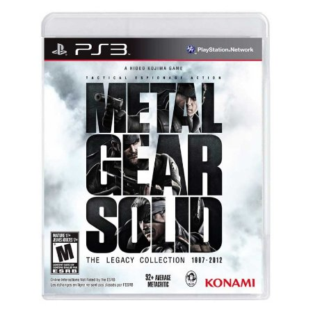 Jogo Metal Gear Solid: The Legacy Collection - PS3