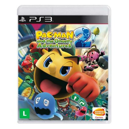 Jogo Pac-Man e as Aventuras Fantasmagoricas 2 - PS3