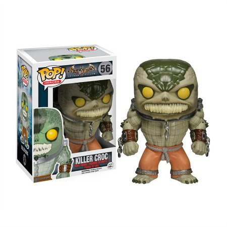 Action figure Arkham Asylum Killer Croc - POP Vinyl