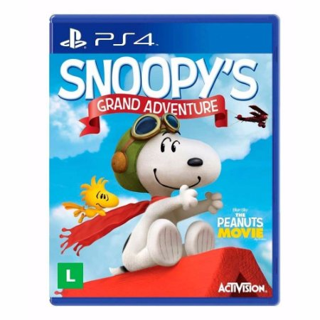 Jogo The Peanuts Movie: Snoopy's Grand Adventure - PS4