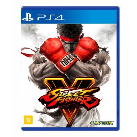 Jogo Street Fighter V - PS4