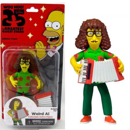 Action figure Weird Al The Simpsons 25th Anniversary Series 4 - Neca