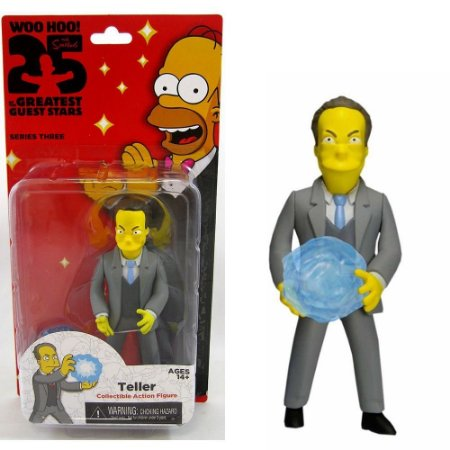 Action figure Teller The Simpsons 25th Anniversary Series 3 - Neca