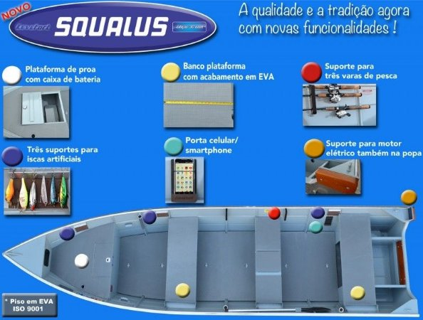 Barco Squalus 30 anos - Levefort