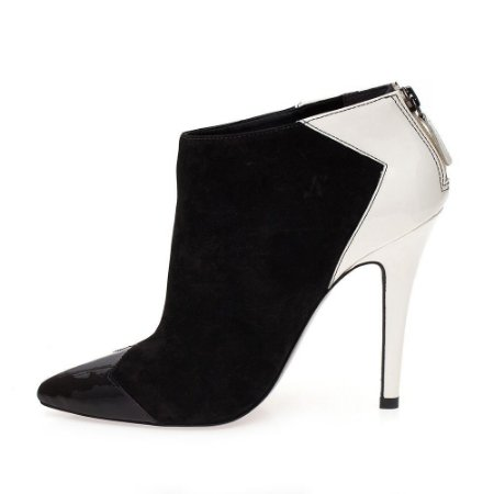 Ankle Boot Black & White My Shoes