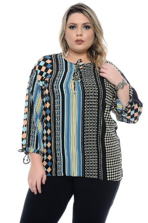 Blusa Plus Size Collins
