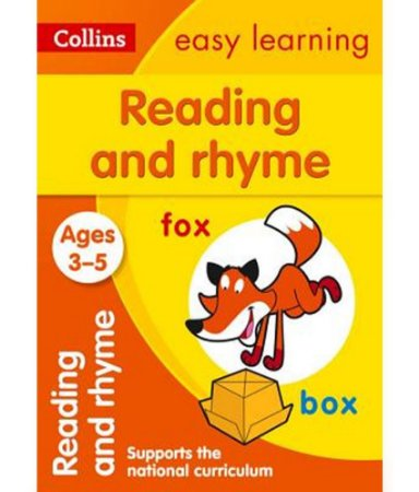 READING AND RHYME - AGES 3-5 - COLLINS EASY LEARNING