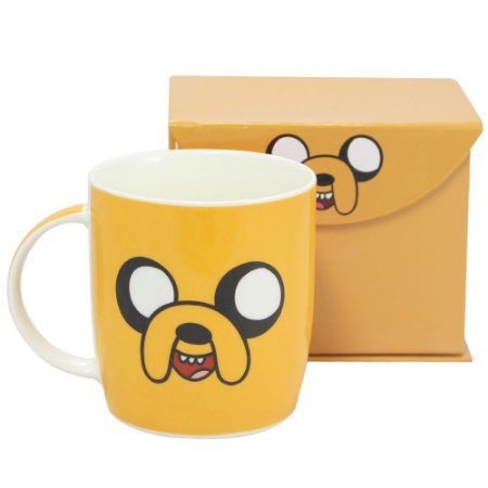 Caneca Hora De Aventura Jake Faces 320ml