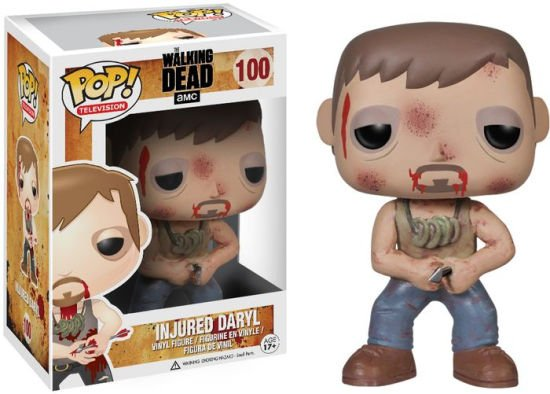 BONECO FUNKO POP! INJURED DARYL