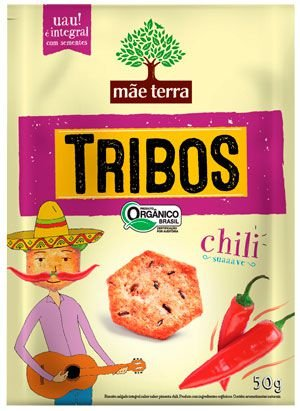 Snack Tribos Chili Suaaave - 50g - Mãe Terra