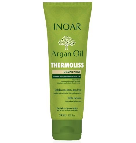 Inoar - Argan Oil Thermoliss Shampoo Suave 240ml
