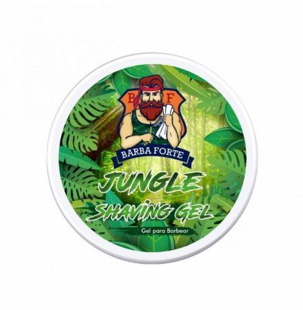 Barba Forte - Jungle Shaving Gel 170g