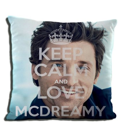 ALMOFADA KEEP CALM AND LOVE MCDREAMY