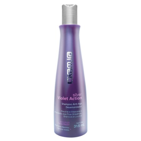 C.Kamura Silver Violet Action Shampoo - 315ml