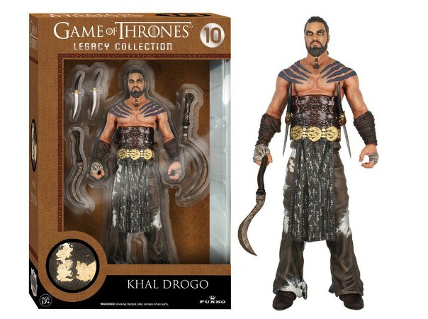 Got Khal Drogo Legacy Action Figure -