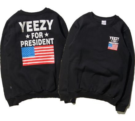 Moletom - YEEZY FOR PRESIDENT