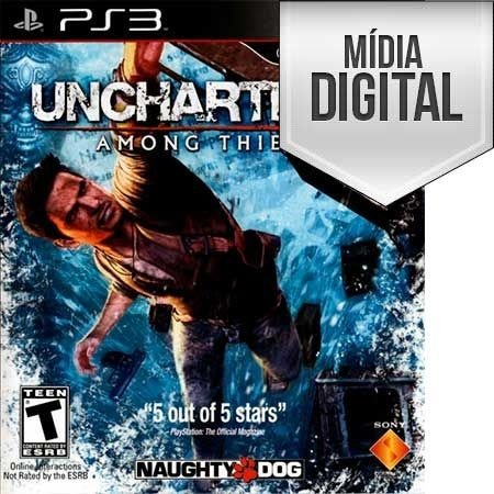 Uncharted 2: Among Thieves  Ps3 Mídia Digital
