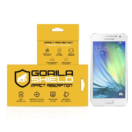 Película de vidro para Galaxy A3 – Double Protection – Gorila Shield