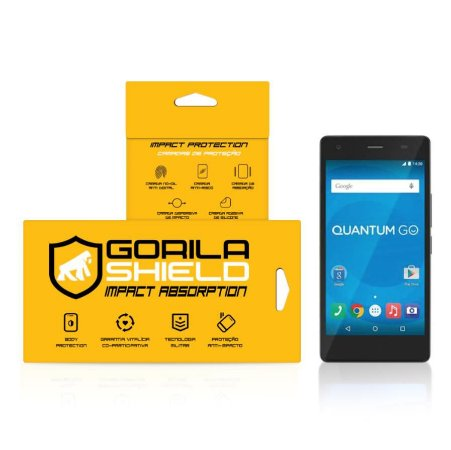 Película de vidro para Quantum GO – Double Protection – Gorila Shield
