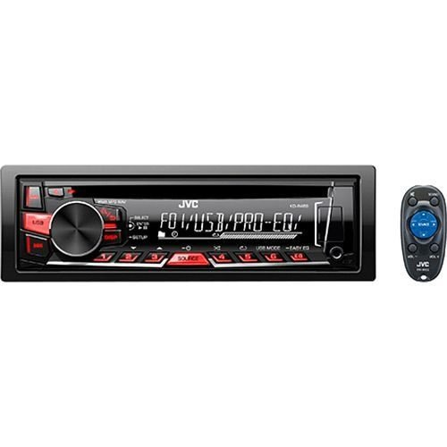 CD Player JVC KD R469 com Mp3 Player Entrada USB e AUX
