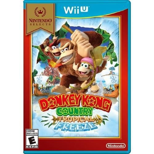Jogo Donkey Kong Tropical Freeze - Wii U