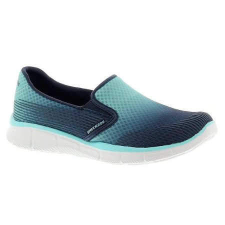 SKECHERS WOMEN EQUALIZER SPACE OUT 12184 - LIGHT BLUE/NAVY
