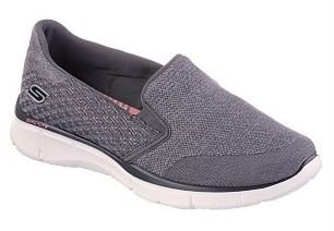 WOMENS SKECHERS EQUALIZER SAY SOMETHING 12182 - CHARCOAL