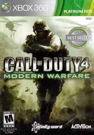 JOGO CALL OF DUTY MODERN WARFARE 4 XBOX 360