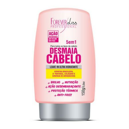 Leave-in 5 em 1 Desmaia Cabelo 150g Forever Liss