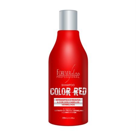 Shampoo Tonalizante Color Red 300 ml Forever Liss