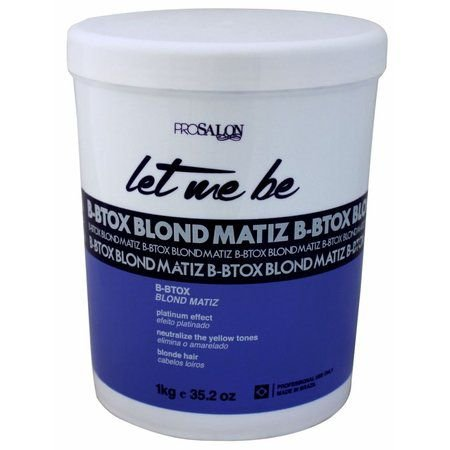 B-Btox Blond Matiz Let Me Be 1Kg Prosalon